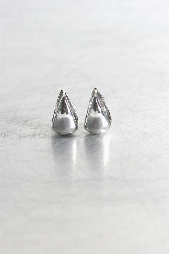 Sterling Silver Hinge Teardrop Earrings Mini no1 from kellinsilver.com