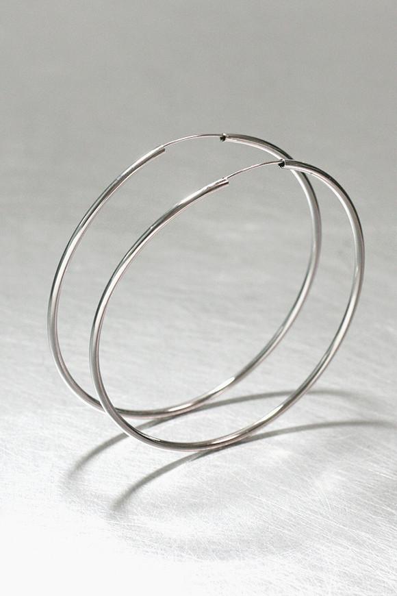80mm Sterling Silver Pipe Hoops from kellinsilver.com