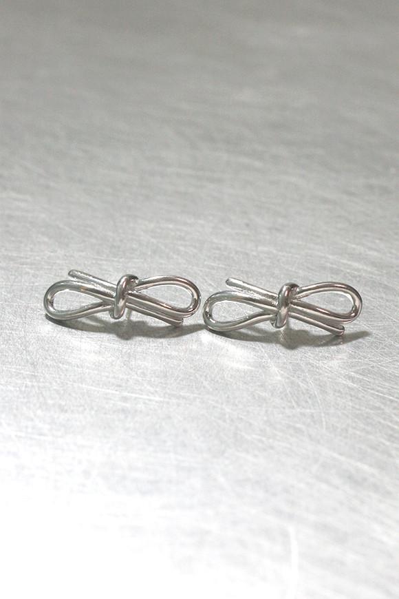 Sterling Silver Bold Promise Bow Earrings from kellinsilver.com