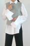 Out Stitched Wool Short Vest on kellinsilver.com