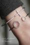 swarovski two circle cuff bracelet white gold from kellinsilver.com