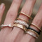 Vintage Arrow Stacked Rings Set of 9 from kellinsilver.com