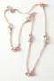 Rose Gold Horsebit Necklace in Sterling Silver from kellinsilver.com