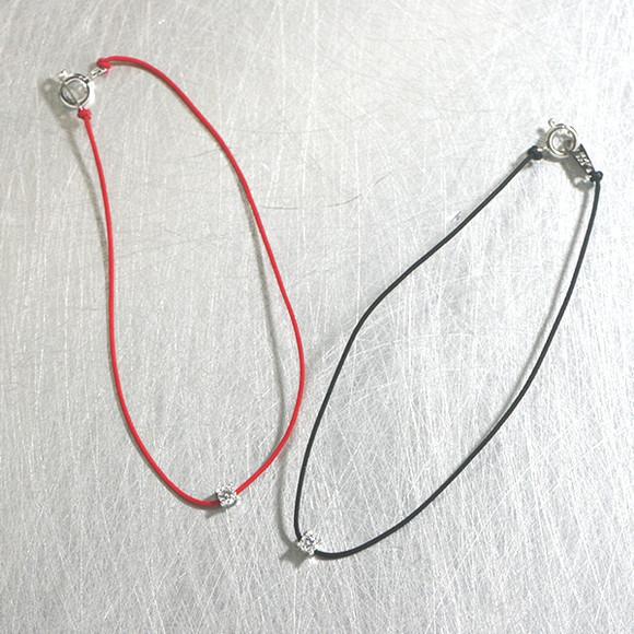 CZ String Bracelet from kellinsilver.com