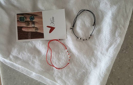 Silver Nugget String Bracelet Ankelet from kellinsilver.com