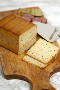 Smoked Peppered Cooper Cheese (1 lb)