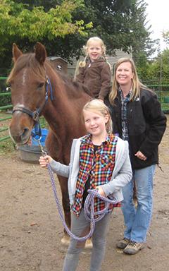 Nicole's Horse