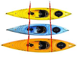 Malone Sling-Three Kayak Storage Hanger