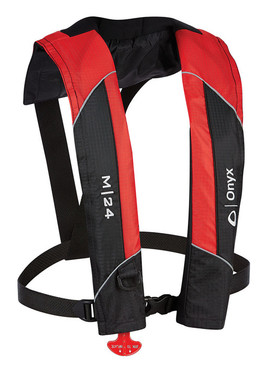 M-24 - Manual Inflatable Life Jacket