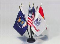 Stick Arm Forces Flag Sets