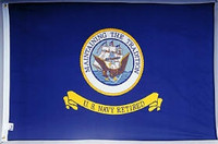 Navy Retirement Flags