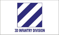 3rd Infantry Division Military Flags