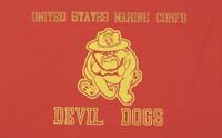 USMC Devil Dogs Military Flags