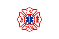 Fire Rescue Flags