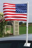 U.S Auto Window Flags Complete Set