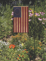Antique U.S. Garden Flag