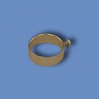 Aluminum Flag Ring