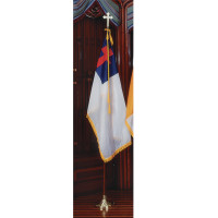 Deluxe Christian Nylon Sets with Oak Poles
