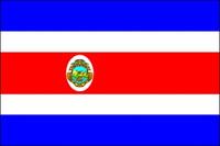 Costa Rica (with Seal) (UN OAS) Outdoor Flags