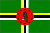 Dominica (UN OAS) Outdoor Flags