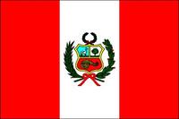 Peru (with Seal) (UN OAS) Outdoor Flags