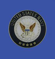 Navy Emblem Lapel Pin