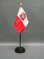 Poland (with Eagle) Stick Flags