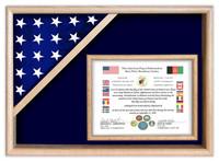 Corner Flag Case with Document Frame