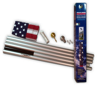 Commander In-Ground Flag Pole - Flag Included