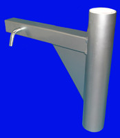 Trailer Hitch Mount for 20' Telescoping Flag Pole