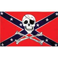 Pirate Rebel Flag