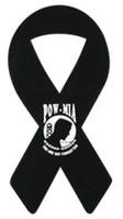 "4"" POW/MIA Ribbon Magnet"