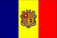 Andorra with Seal (UN) Outdoor Flags