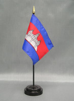 Cambodia (UN)  - Stick Flags
