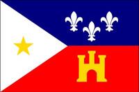 Acadiana Outdoor Flag