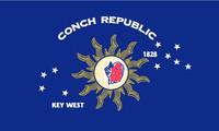Conch Republic Outdoor Flag