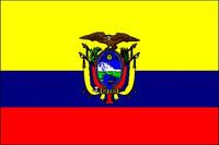 Ecuador with Seal (UN OAS) - Indoor Flags