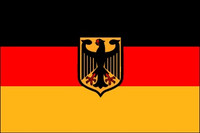Germany with Eagle - Indoor Flags