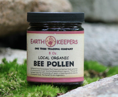 """One teaspoon of pollen is equal to the dreams of one million flowers. Bee pollen can be thought of as nutritional """"star light"""" coming to us in the form of energy and information."""