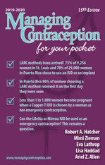 Managing Contraception for your Pocket 2019 - 2020