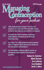 Managing Contraception 2019 -2020 - Digital Download
