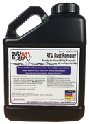 Pre-mixed Rust911 Powerful Rust Remover.  Non-Hazardous, Non-Toxic and Safe to Use on irons, steels, copper and brass.  Does not harm plastics, paints or rubbers.