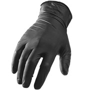 Black Nitrile Gloves- 4 mil