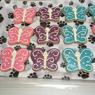 Butterflies (set of 4 treats)