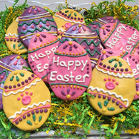 Decorated Eggs (set of 3 treats)