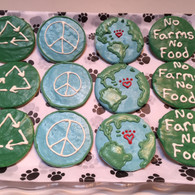 Earth Day Cookies (set of 4 treats)