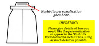 Hakama Koshi-Ita Embroidery
