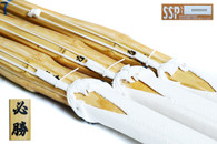 'All Japan' - HISSHOU - Deluxe SEI-HAKKAKU Madake Shinai - Set of 3