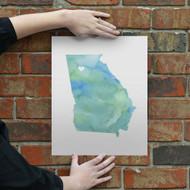 Georgia - Watercolor Series
