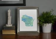 Wisconsin - Watercolor Series